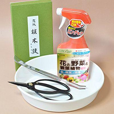 はじめての盆栽道具 シンプル4点セット